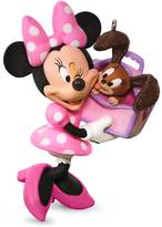 Hallmark Disney's Minnie Mouse Girl's Best Friend 2017 Keepsake Christmas Ornament