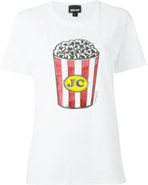 Just Cavalli popcorn print T-shirt - women - Cotton - S