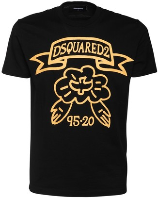 DSQUARED2 Printed Cotton Cool Fit T-Shirt