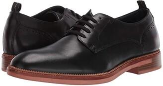 Steve Madden Turnout Oxford (Black Leather) Men's Shoes