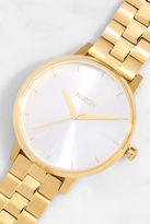 Nixon Kensington Gold and White Watch
