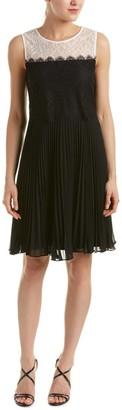 Erin Fetherston Erin Women's Astrid Lace Chiffon Pleated Dress