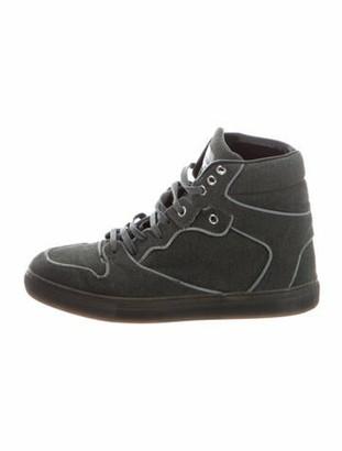 Balenciaga Suede Sneakers Grey