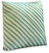 Bed Bath & Beyond Nostalgia HomeTM Madison Square Throw Pillow in Aqua and Khaki