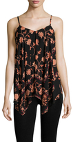 Plenty by Tracy Reese Scarf Hem Camisole