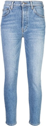 Reformation Serena skinny cropped jeans