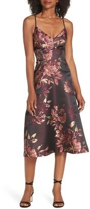 Brinker & Eliza Floral Midi Dress
