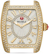 Michele Urban Mini Diamond Watch Head, 29mm x 30mm