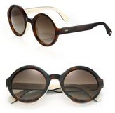 Fendi 51MM Round Optyl Sunglasses