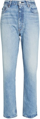 Moussy Viola Wide Straight-Leg Jeans