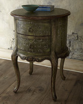 Military Scroll Commode