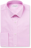 Charvet Slim-Fit Gingham Cotton Shirt