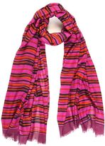 A Pea in the Pod Berry Wavy Stripe Scarf By Bindya Accessories