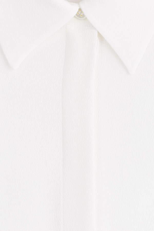 Michael Kors Silk-Blend Blouse