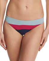 Tory Burch Marguerite Colorblock Hipster Swim Bottom