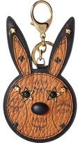 MCM Animal Rabbit Mirror Charm Wallet