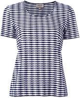 Armani Collezioni striped round neck T-shirt