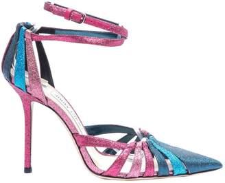 Jimmy Choo Pink Glitter Heels