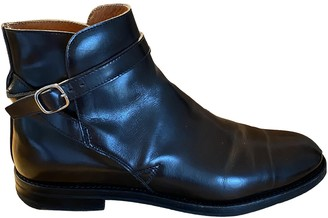 Church's Burgundy Leather Ankle boots