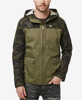 Buffalo David Bitton Men's Jajinst Lightweight Colorblocked Camouflage Jacket
