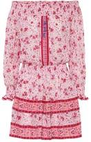 Poupette St Barth Sylvia floral-print mini dress