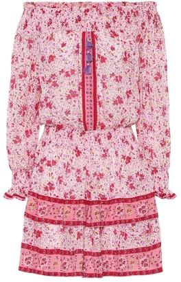 Poupette St Barth Sylvia floral mini dress