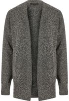 River Island Mens Grey slouchy cardigan
