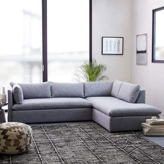 west elm Shelter 2-Piece Terminal Chaise Sectional