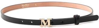 Max Mara Logo Buckle Belt