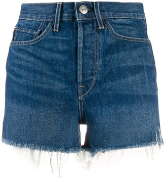 3x1 Kenzie denim high waisted shorts