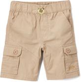 Beverly Hills Polo Club Khaki Mini Ripstop Cargo Shorts - Infant Toddler & Boys