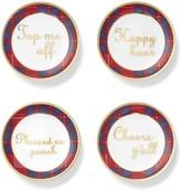 Draper James Plaid Coaster Set