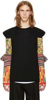 Comme des Garcons Black Floral Sleeves Sweater