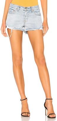 GRLFRND Adriana Mid-Rise Slouchy Short