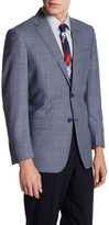 Brooks Brothers Plaid Two Button Notch Lapel Wool Jacket