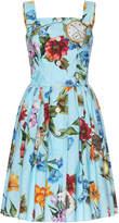 Dolce & Gabbana Floral-Print Cotton Dress