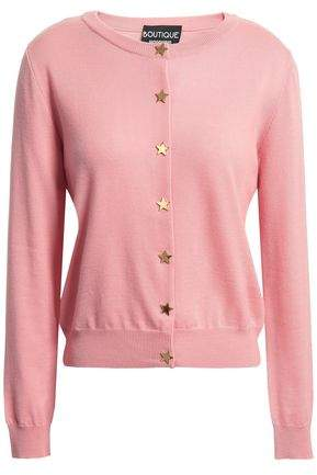 Moschino Button-detailed Wool Cardigan