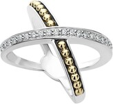 Lagos KSL Diamond Pave Crossover Ring