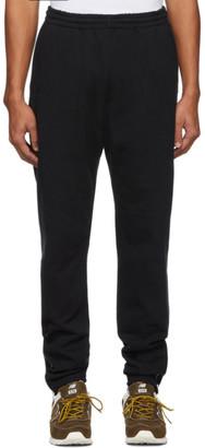 Nanamica Black French Terry Zip Lounge Pants