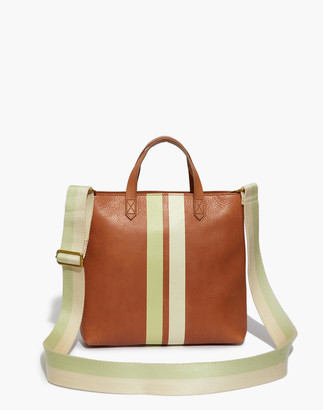 Madewell The Zip-Top Transport Crossbody: Striped Edition