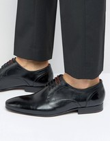 Ted Baker Vandro Lace Up Shoes In Black Leather