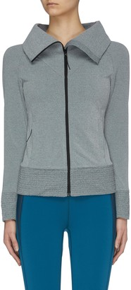 Particle Fever High Neck Fleece Jacket