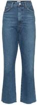 A Gold E High-Waisted Kick-Flare Jeans
