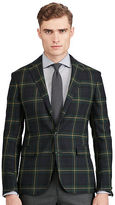 Ralph Lauren Morgan Tartan Wool Suit Jacket