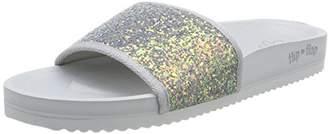 Flip*Flop Women 30061 Heels Sandals Grey Size: