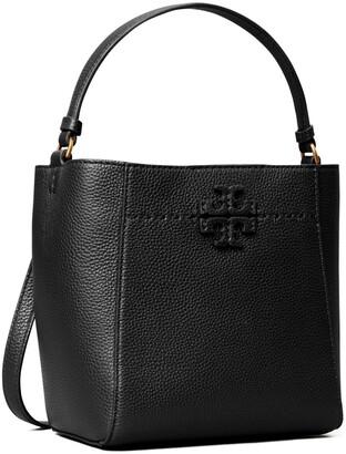 Tory Burch McGraw Small Bucket Bag