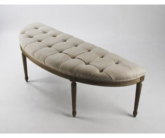 Upholstered Bench With Arms Shop The World S Largest Collection Of Fashion Shopstyle
