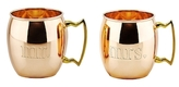 Old Dutch Mr. and Mrs. Moscow Mule Mugs (Set of 2)