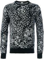 Saint Laurent leopard print sweater
