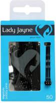 Lady Jayne Bobby Pins 4.5Cm Black 50 Pack